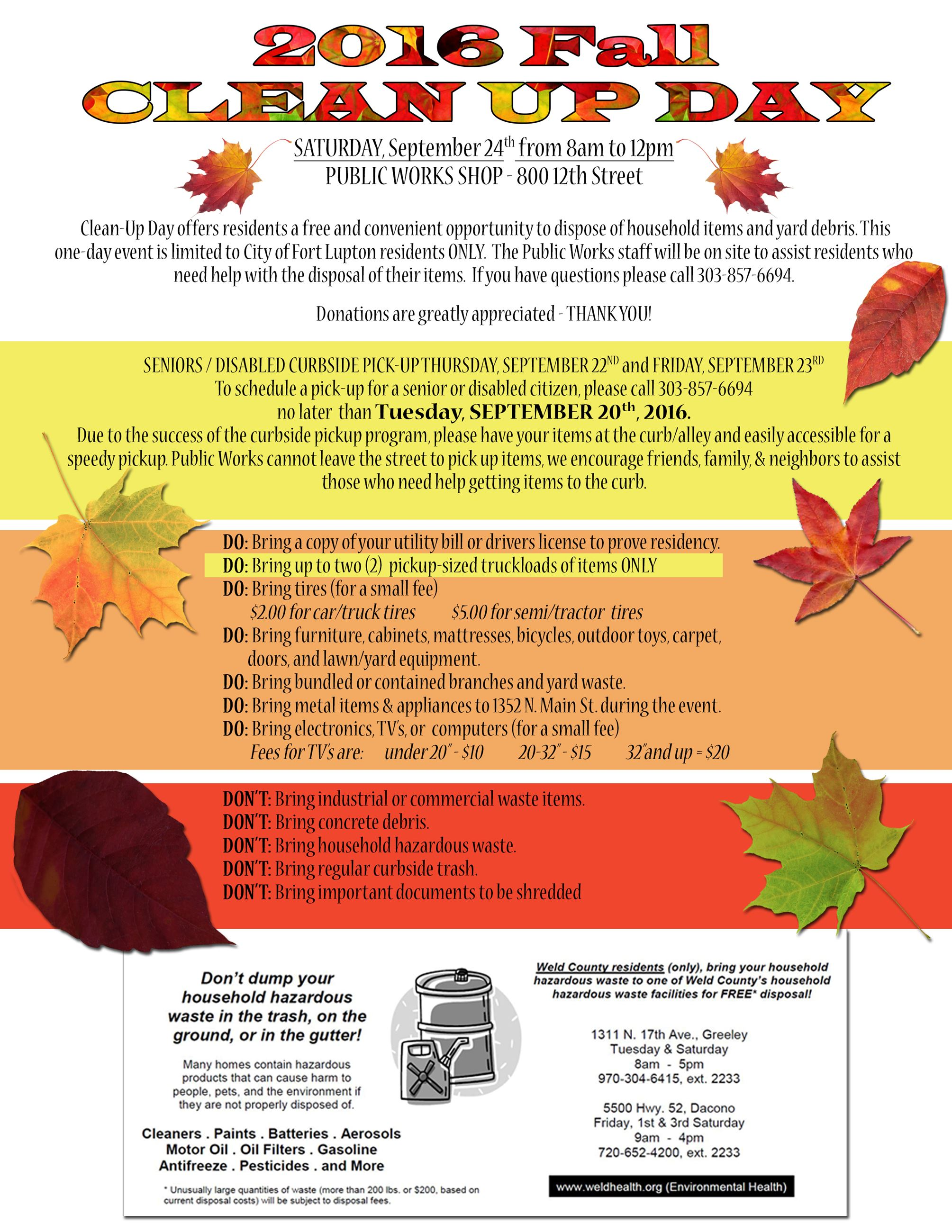 Fall cleanUp Flyer 3
