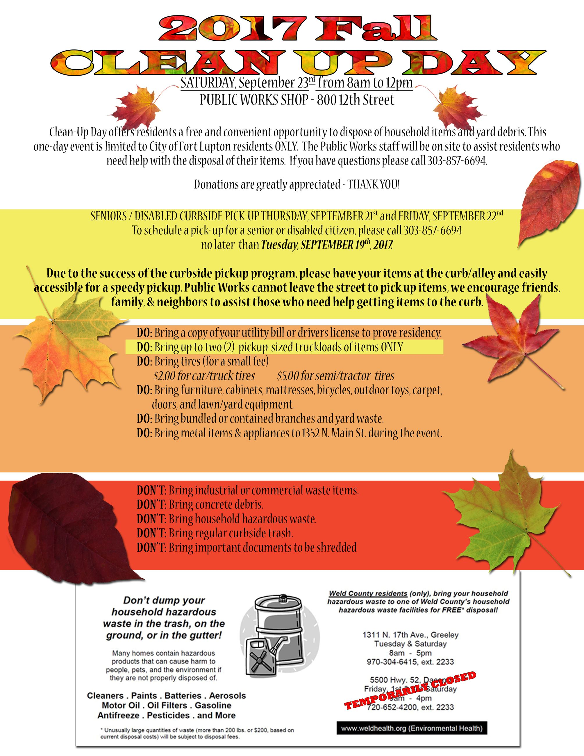Fall cleanUp Flyer 2017a