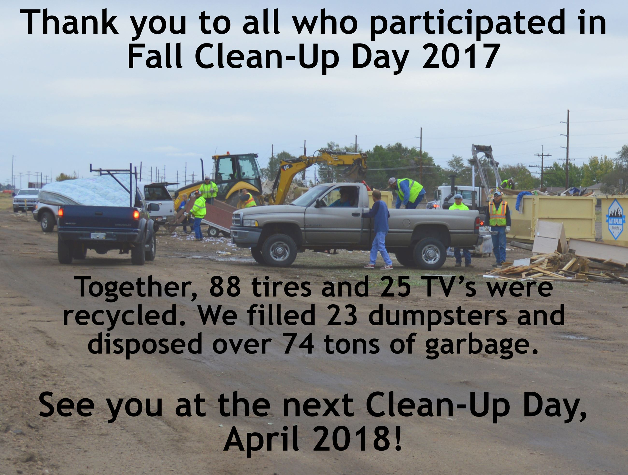 Thank You Clean Up Day2