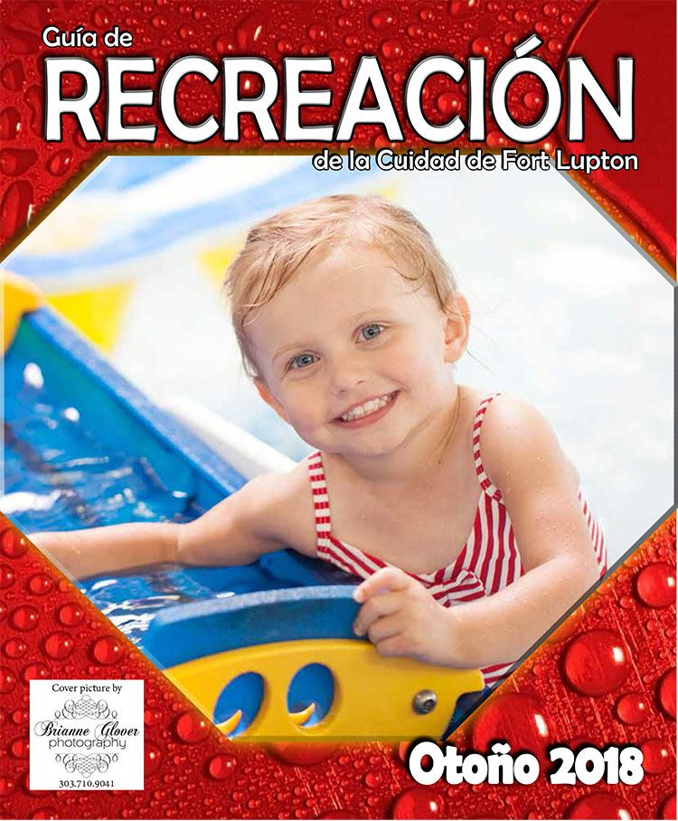 City of Fort Lupton Recreation Magazine Spanish Cover