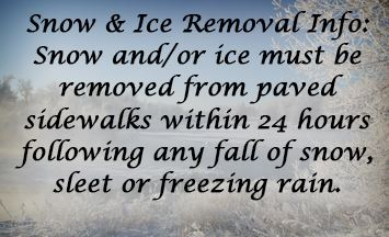 Snow Removal News Graphic