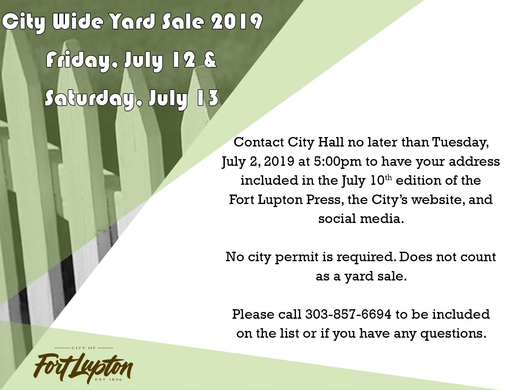 city wide yard sale 2