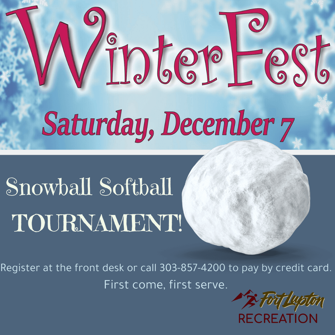 2019 Winterfest Snowball Softball Tournament