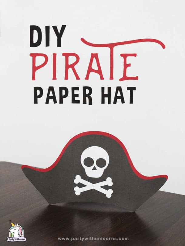 DIY Paper Pirate Hat Opens in new window