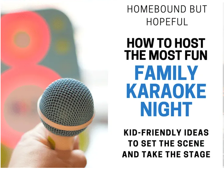 How to host a karaoke party link