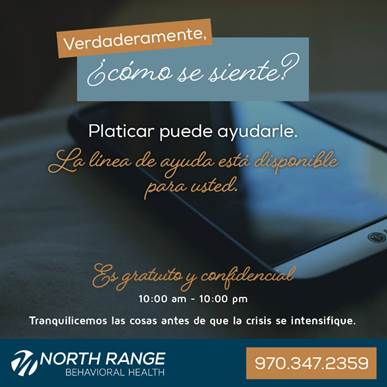 North Range Talking Line 970-347-2359